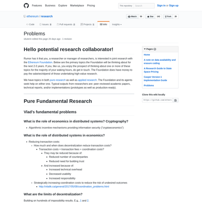 ethereum/research