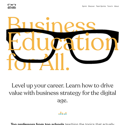 Section4 | Business education for all