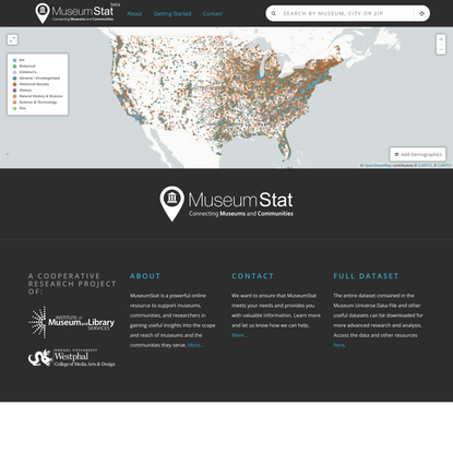 MuseumStat: Connecting Museums and Communities