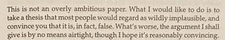 a modest preface