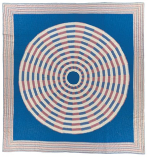 Unknown, Rising Sun Quilt, 1915
