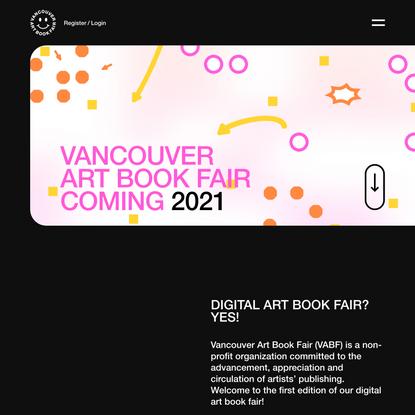 Home - Vancouver Art Book Fair