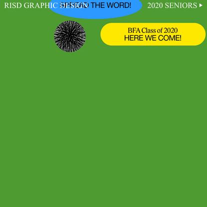 RISD BFA 2020