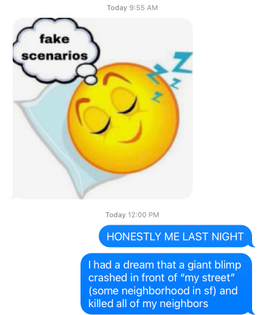 cousin dream journal