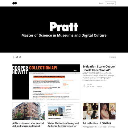 Museums and Digital Culture - Pratt Institute