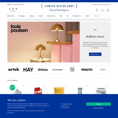 Finnish Design Shop - online store specialized in Nordic design