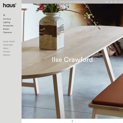 Contemporary furniture, lighting, gifts | London design shop | haus®