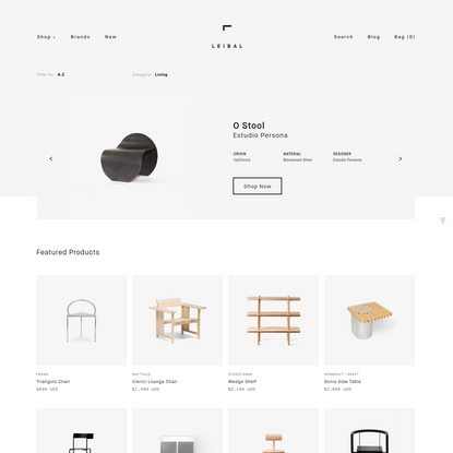 Leibal Store - Minimalist Design Products