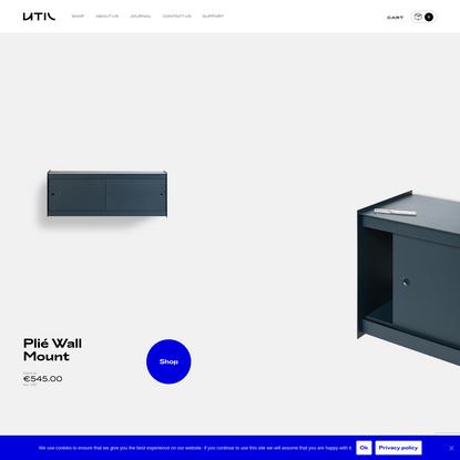 Lisbon-based designer furniture brand | UTIL