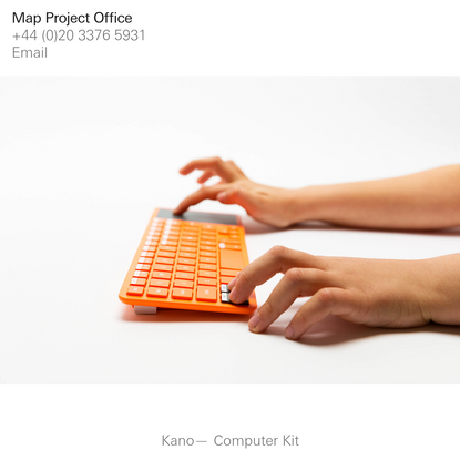 Map Project Office - Industrial design for the digital age