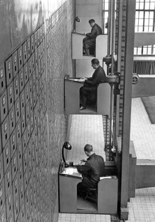 offices of the central social institution of Prague, 1937