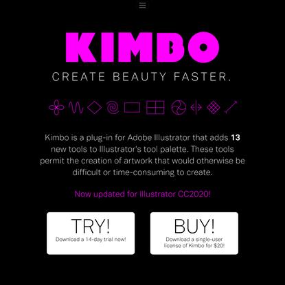 KIMBO - ILLUSTRATOR PLUGIN