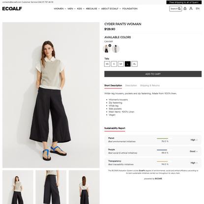 Cyder Trousers | ECOALF