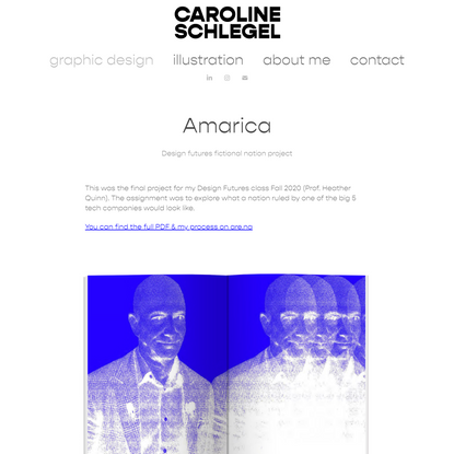 caroline schlegel portfolio - Amarica