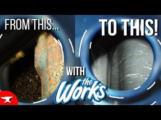 How to REMOVE RUST for $1- (HOW TO CLEAN A GAS TANK) - motorcycle gas tank pt.1