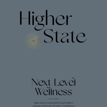 Higher State — Next Level Wellness