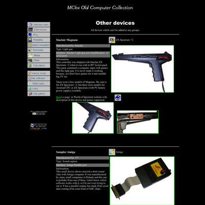 Other 8-bit related peripherals - MCbx
