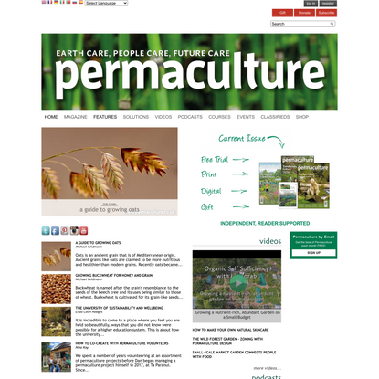 Permaculture magazine | Permaculture - practical solutions beyond sustainability