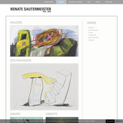 Renate Sautermeister - Werke