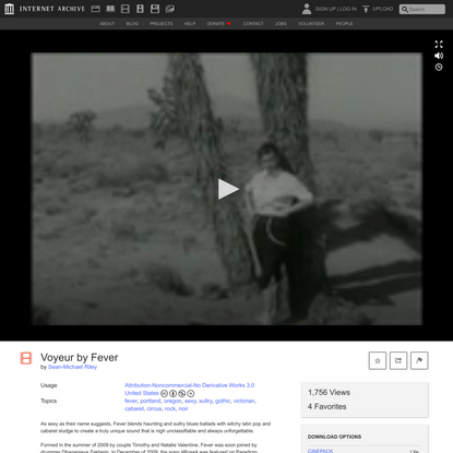 Voyeur by Fever : Sean-Michael Riley : Free Download, Borrow, and Streaming : Internet Archive