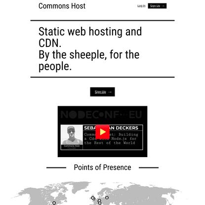 Commons Host