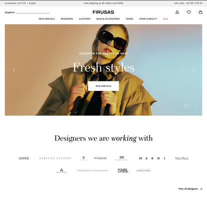 Women's Designer Shopping │ Firusas.com