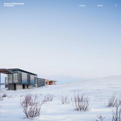 Anderson Mason Dale Architects   Denver Architecture Firm