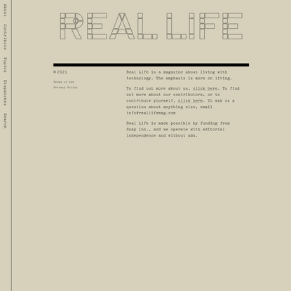 Family Scanning — Real Life