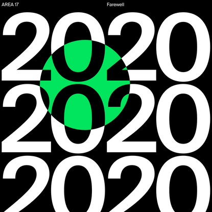2020 Year in Review — AREA 17
