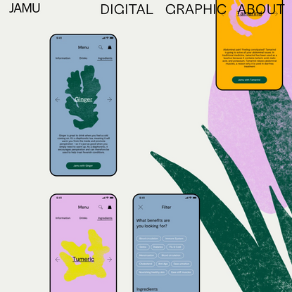 Tina Lehnhardt UX — Jamu Case Study