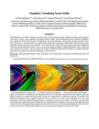GlyphSea: Visualizing Vector Fields