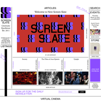 Screen Slate