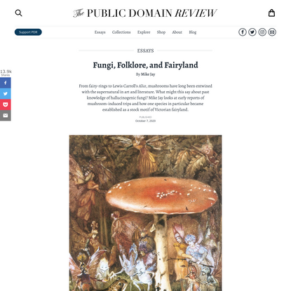 Fungi, Folklore, and Fairyland