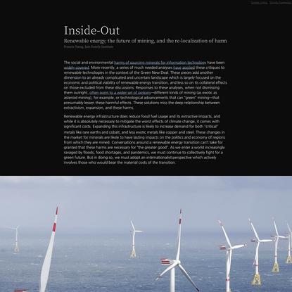 Inside-Out | Phenomenal World