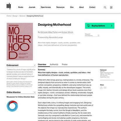 Designing Motherhood