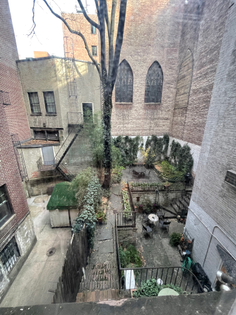 dead use but beautiful inner block city space