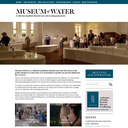 Museum of Water, London UK