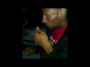 Amazingly talented homeless man performs hit song in my car