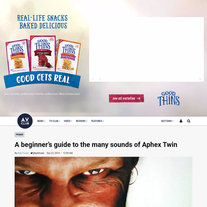 A beginner's guide to the many sounds of Aphex Twin