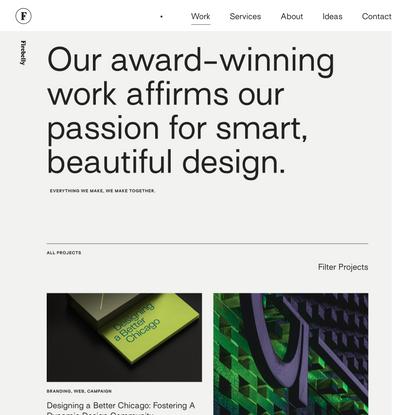 Work | Branding | Strategy | Graphic Design | Firebelly Design