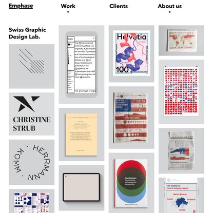 Emphase   Swiss Graphic Design Lab.