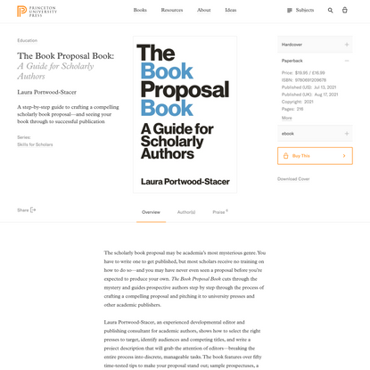 The Book Proposal Book