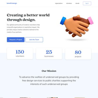 Home — benefit.design