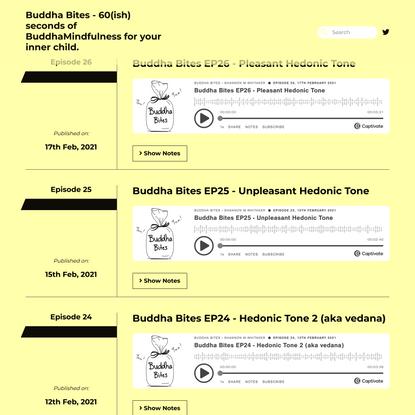 Buddha Bites Podcast