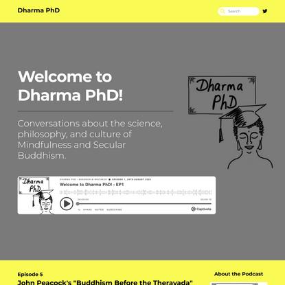 Dharma PhD