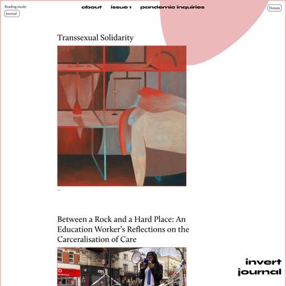 Invert Journal