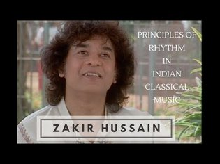 Zakir Hussain on Principles of Rhythm in Indian Music (Knowledge Series - 6)