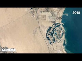 Google Earth Timelapse: Urban Expansion Around The World