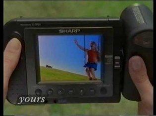 Sharp Viewcam Video Camera ad 1993