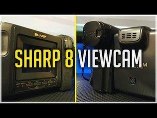 VIDEOCAMERA VINTAGE - Sharp 8 Viewcam .